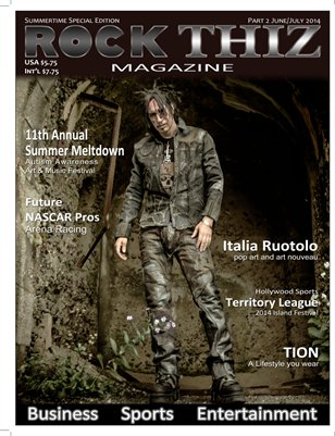 Rock Thiz Magazine Summertime Special Edition Part #2