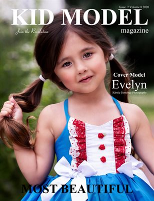 Kid Model Magazine Issue 7 Volume 8 2020 Summer Most Beautiful