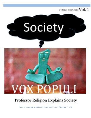 Professor Religion Explains Society