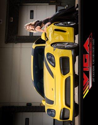 11x14 Viga Cars & Girls Calendar 2017