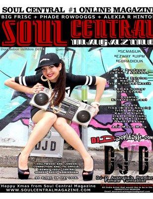 Soul Central Magazine December 2014
