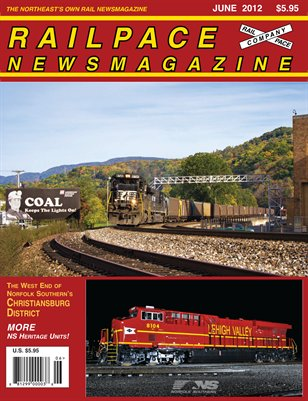 JUNE 2012 Railpace Newsmagazine