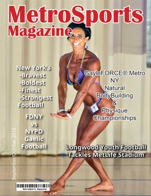 MetroSports Magazine Sept/Oct 2015 DL cover