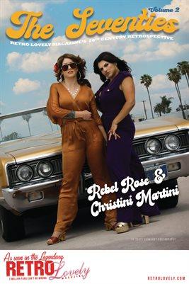 20th Century Retrospective – The 70's Vol. 3 – Rebel Rose & Christini Martini Cover Poster
