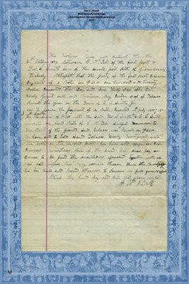 1892 Mortgage, C.W. Fisk & Thos. L. Smith, Graves County, Kentucky