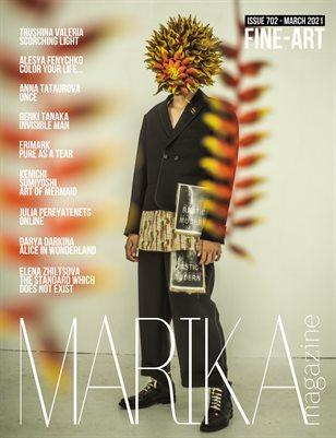 MARIKA MAGAZINE FINE-ART ( MARCH - ISSUE 702)