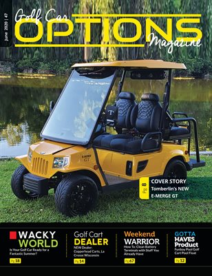 Golf Car Options Magazine - June 2020