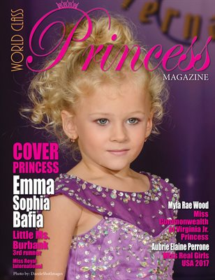 World Class Princess Magazine, Emma Sophia Bafia