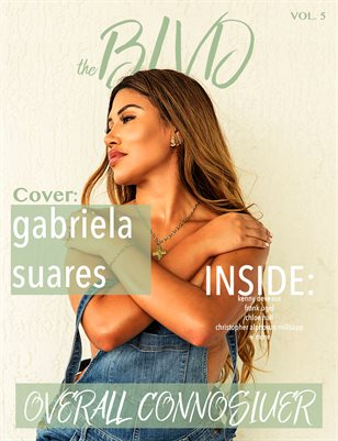 The Boulevard Magazine Vol. 5 ft. Gaby Suares