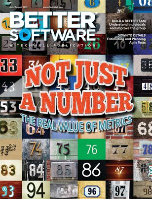 Better Software Magazine July/August 2013