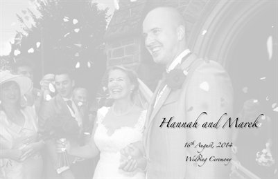 Hannah and Marek - Wedding Ceremony