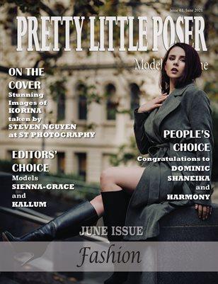 Pretty Little Poser Model Magazine - Issue 61 - Fashion - June 2021