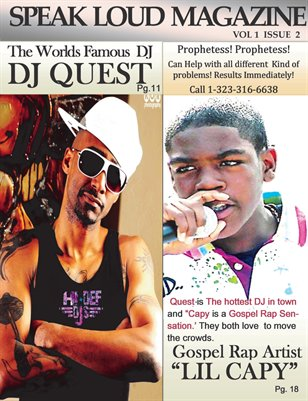 On The Cover: Dj Quest and Lil Capy