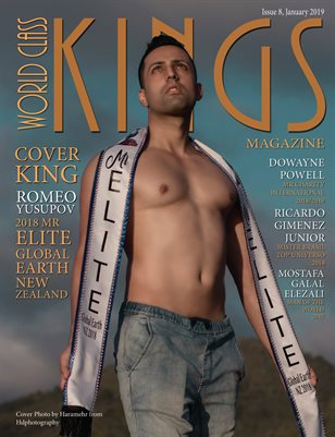 World Class Kings Magazine with Romeo Yusupov