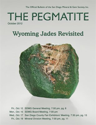 The Pegmatite - October 2012