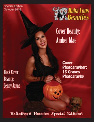Baba Lous Beauties-Halloween Hotties Special Edition-COVER ONE: October 2016