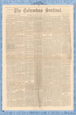 (PAGES 1-2) The Columbus Sentinel, May 17, 1878, Columbus, Hickman County, Kentucky