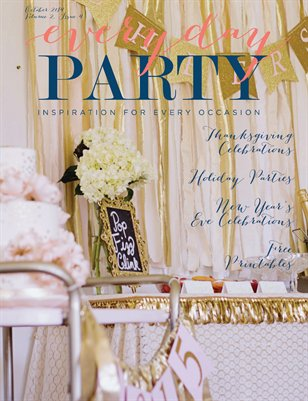 Everyday Party Magazine Winter 2014 Issue Volume 2 Issue 4