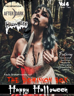 TDM:Afterdark:Kayla Graham Halloween 2020 Vol.4 Cover 2