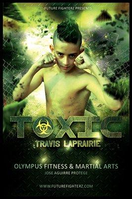 Toxic Travis Laprairie Poster