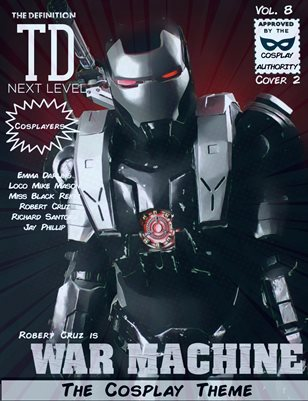 TDM Cosplay Vol.8  Robert Cruz Cover2