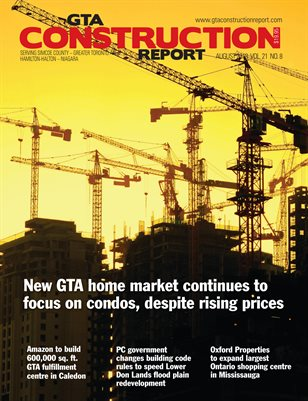 GTA Construction Report (August 2018)