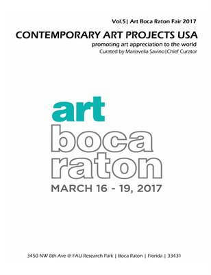 Contemporary Art Projects USA|Official Catalog|Vol. 5|Art Boca Raton 2017|