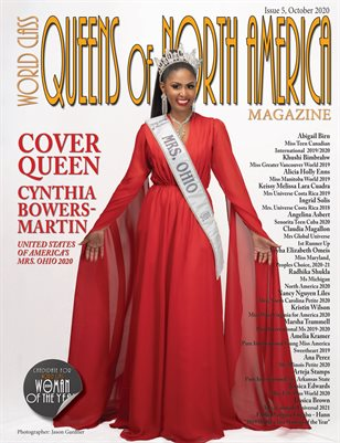 World Class Queens of American Royalty Magazine Issue 5 with Cynthia Bowers-Martin
