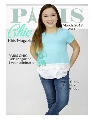 Paris Chic Kids Magazine March