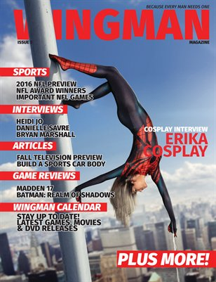 Wingman Magazine Issue 3 Cover 3