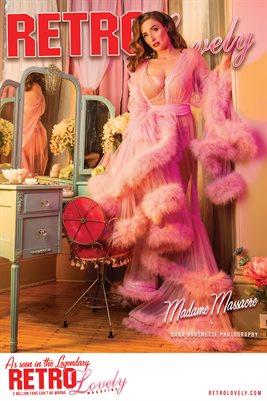 Madame Massacre Boudoir Cover Poster