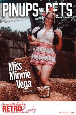 Pinups & Pets Vol. 8 – Miss Minnie Vega Cover Poster
