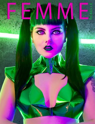 Femme Rebelle Magazine April 2019 BOOK 2 - Nadine Botha Cover