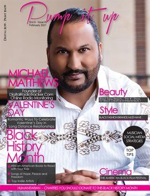 Pump it Up Magazine -Vol.6 - Issue #2 - With Michael Matthews Founder of Digital Radio Tracker