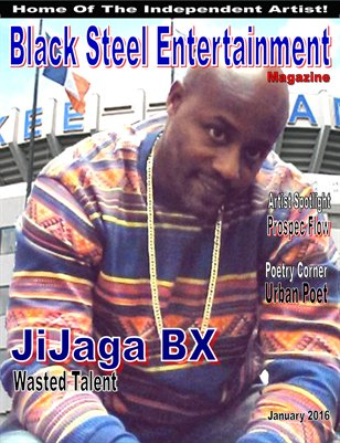 Black Steel Entertainment Magazine (January 2016)