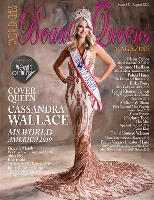 World Class Beauty Queens Magazine Issue 121 Cassandra Wallace