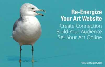 Re-Energize your Art Website