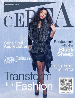 Certa Magazine September 2013