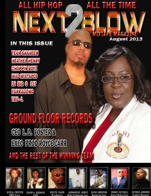 NEXT2BLOW MAGAZINE AUGUST 2013
