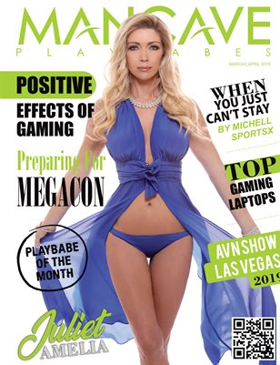 MANCAVE PLAYBABES - MARCH/APRIL 2019
