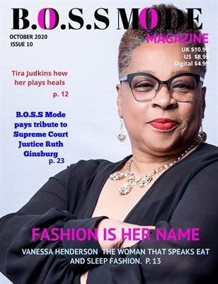 B.O.S.S MODE Magazine October Edition 2020