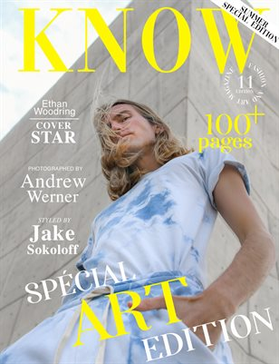 KNOW Magazine The Art Edition June 2021_Ethan