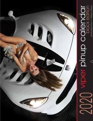 2020 Viper Pinup Calendar - Standard Black Edition