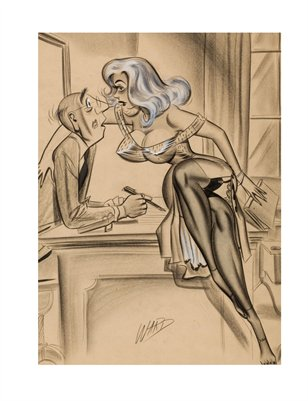 ART AMERICANA-PINUP CARTOON ART
