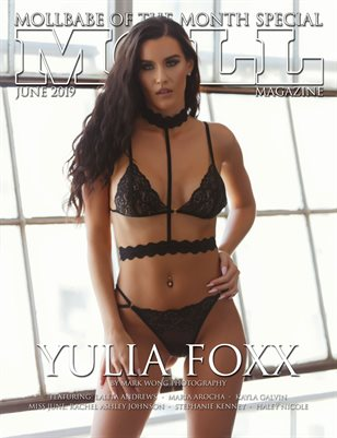 MOLL MAG JUNE MOLLBABE OF THE MONTH EDITION 2019