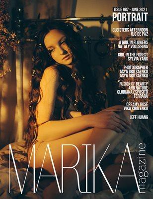 MARIKA MAGAZINE PORTRAIT (ISSUE 987 - JUNE)