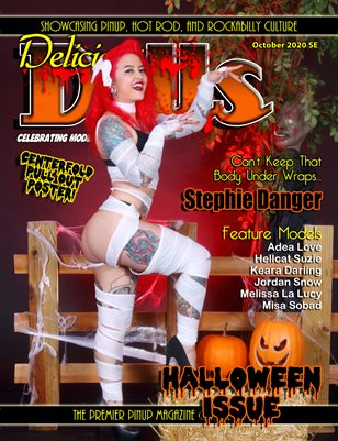 Delicious Dolls October 2020 Issue Stephie Danger Cover