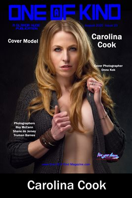 ONE OF A KIND MAGAZINE COVER POSTER- Cover Model Carolina Cook - August 2020