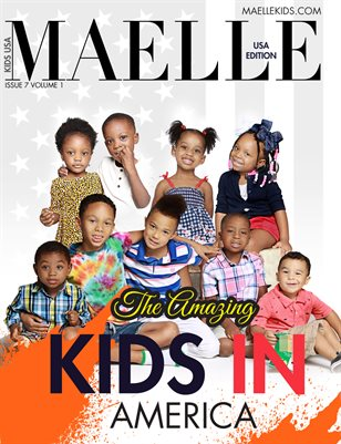 Maelle Kids Magazine #6 Kids of America