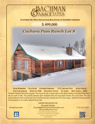 Cuchara Pass Ranch Lot 8